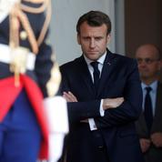 Sondage: nouveau coup d'arrêt pour Emmanuel Macron