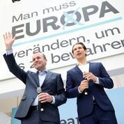 Européennes: Weber dans la lumière de Kurz et sans l'ombre de Merkel