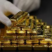 Le cours de l'or à son plus bas niveau depuis le début de l'année