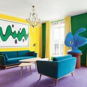L'artiste Bertrand Lavier a carte blanche au Bristol