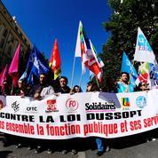 Fonction publique: 108.900 manifestants en France selon l'Intérieur, 250.000 selon la CGT