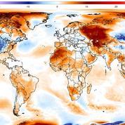 Cette image montre qu'en dépit du froid ressenti, la Terre est bien en surchauffe