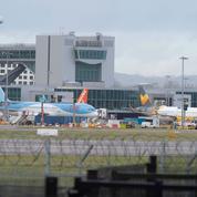 Vinci atterrit à l'aéroport de Gatwick à Londres