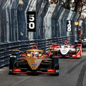 E-Prix de Monaco, Vergne magistral
