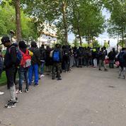 Crack, racisme, nourriture: situation toujours très tendue entre les migrants à Paris
