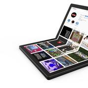 Lenovo dévoile le premier ordinateur avec un écran pliable