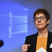 À la CDU, «AKK» assume de poser la question du Parlement de Strasbourg