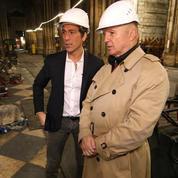 Le général Georgelin ouvre Notre-Dame à la télé américaine