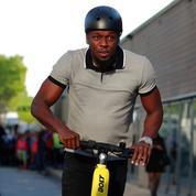 Usain Bolt lance sa flotte de trottinettes électriques à Paris