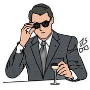 Des lunettes de gentleman