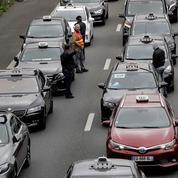 Taxis, auto-écoles et ambulanciers manifestaient ce lundi contre l'«ubérisation»