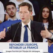 Européennes: Bellamy dénonce l'«incroyable narcissisme» de Macron