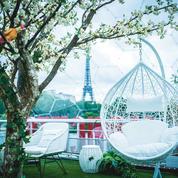 Mademoiselle Mouche: rooftop en bord de Seine