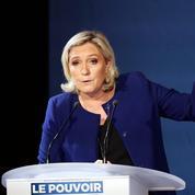 «La France islamiste»: Marine Le Pen cible le mouvement de Jean-Luc Mélenchon