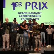 Apprentiscène 2019: le CFA BTP de Saint-Denis remporte le premier prix