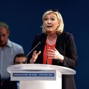 Européennes 2019: Marine Le Pen appelle Macron à dissoudre l'Assemblée nationale