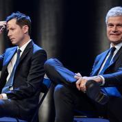 Européennes 2019: Wauquiez s'en prend à Macron, Larcher admet «un échec»