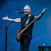Sting: «Comme Aznavour, je vais chanter jusqu'au bout»