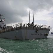 Un navire nommé «USS John McCain» dissimulé pour ne pas froisser Trump