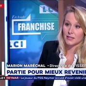 Après la débâcle de LR, Marion Maréchal en appelle à une union des droites