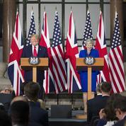 À Londres, Donald Trump se fait le chantre du Brexit