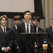 BTS s'engage contre la violence et récolte 2millions de dollars pour l'Unicef