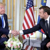 D-Day: Macron et Trump mettent leurs divergences entre parenthèses
