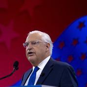 L'ambassadeur américain en Israël évoque le droit d'annexer