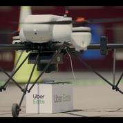 Uber va livrer des burgers par drone dès cet été aux États-Unis