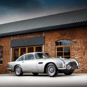 L'Aston Martin DB5 de Bond, un record à 5,77 millions d'euros