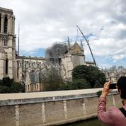 Notre-Dame: la course aux dons se poursuit