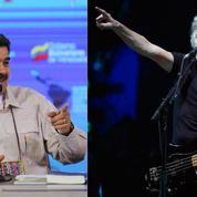 Le cadeau inattendu de Nicolas Maduro à Roger Waters des Pink Floyd