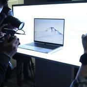 Microsoft reprend la vente des ordinateurs portables de Huawei