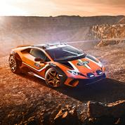 Lamborghini Sterrato Concept, l'Huracàn sort des sentiers battus