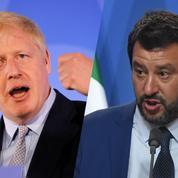 Boris Johnson et Matteo Salvini seront-ils bientôt le pire cauchemar de Bruxelles?