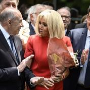 Brigitte Macron en campagne subliminale