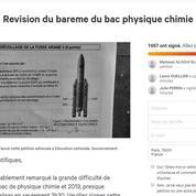 Bac 2019: plusieurs pétitions dénoncent la difficulté du sujet de physique-chimie