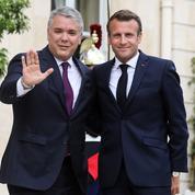 Le président colombien à Paris pour parler de l'ex-guérilla des Farc
