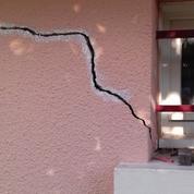 Canicule: la sécheresse responsable d'importantes fissures dans les maisons