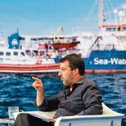 Migrants: Salvini veut forcer l'UE à réagir