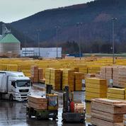 Bois de construction: l'industrie française à la traîne pour servir les promoteurs