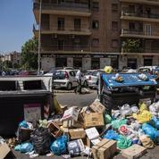 Une énième crise des déchets plonge Rome en apnée