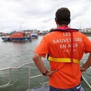 La SNSM lance une bouteille à la mer