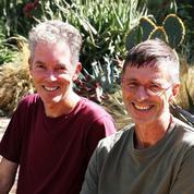 Arnaud Maurières et Éric Ossart, les maîtres des jardins secs