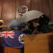 Hongkong: des manifestants sont entrés dans le siège du Parlement