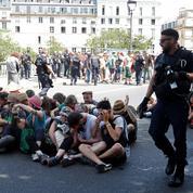 Vives critiques à gauche après l'évacuation musclée de manifestants écologistes