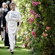 Haute couture: Dior, le noir révélateur de lumière