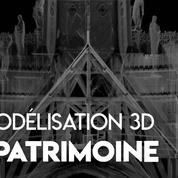 De la cathédrale d'Angers à Notre-Dame: la 3D au secours du patrimoine français