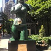Une statue de Salvador Dali vandalisée dans les rues de Vancouver