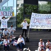 Des urgentistes en grève s'injectent «de l'insuline» pour interpeller le gouvernement